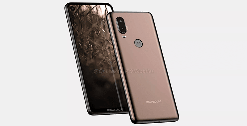 Motorola P40 with hole in the screen and 48MP back camera leaks