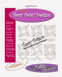 Terry Twist Machine Quilting Block and Sashing Designs Pattern Pack by Sally Terry Professional Machine Quilting and Classes