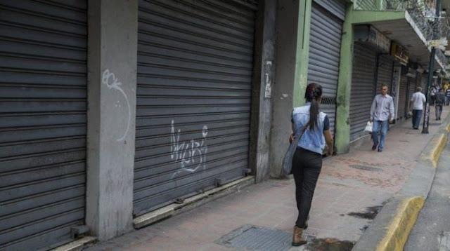 El 40% de los comercios de Venezuela cerraron definitivamente durante el 2018