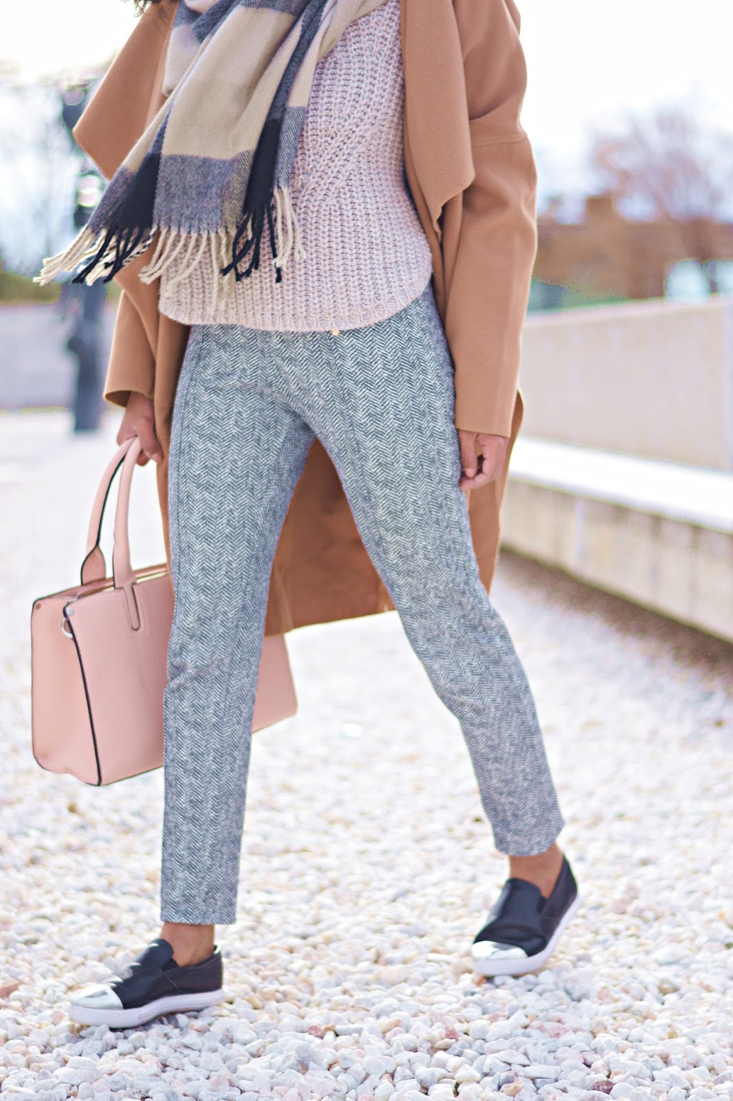 how to style camel coats