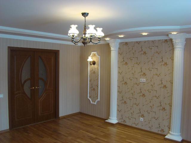 trần thạch cao nhà chung cư - Mẫu số 1