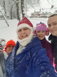 Winter Family Selfie