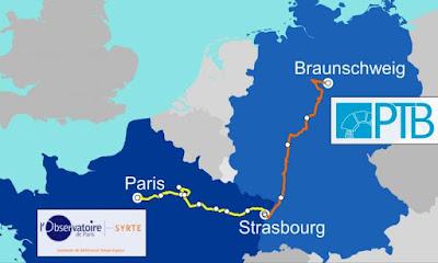 1.400km de fibra òptica entre França i Alemanya