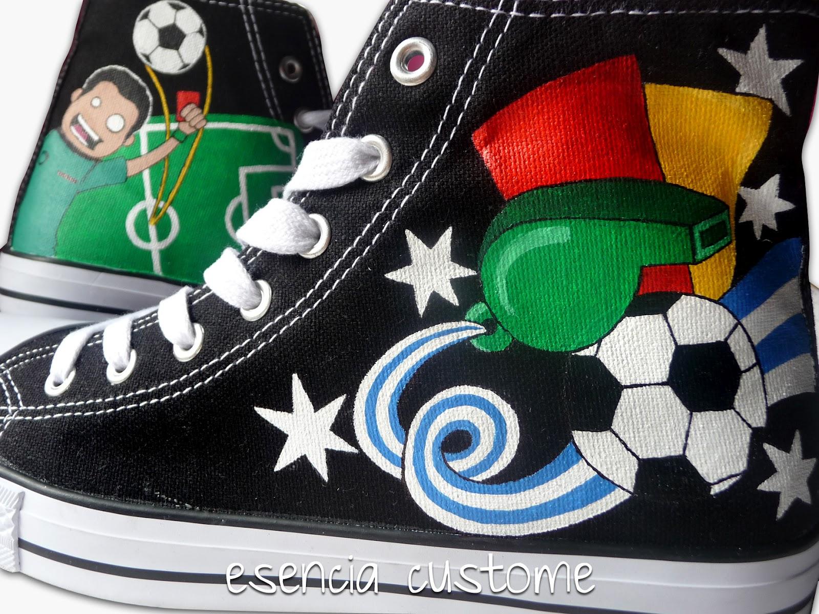 Fiordo Bolsa Villano  Esencia Custome: Zapatillas personalizadas - Custom sneakers: Zapatillas