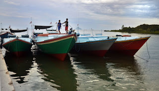 Ilustrasi Kapal Nelayan Indonesia