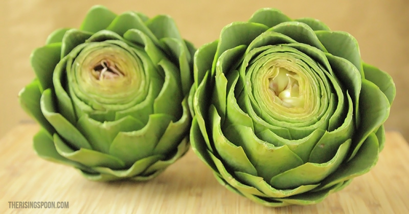 Fragrant Boiled Artichokes with Lemon Butter Dipping Sauce