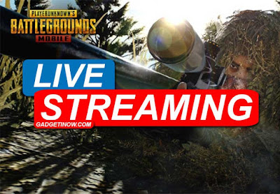live streaming pubg