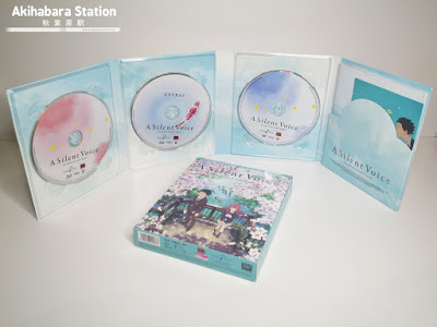 Anime: Review de la edición Blu-Ray coleccionista de A Silent Voice (Koe no Katachi 聲の形) - @selectavision