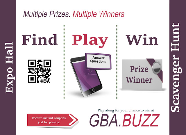 GBA.Buzz Scavenger Hunt at the Expo Hall during RootsTech 2018 Flyer