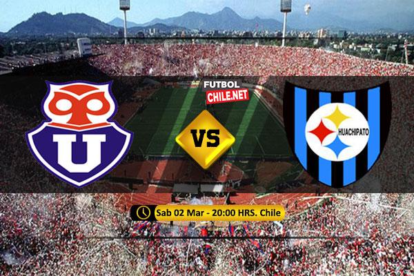 Mira Universidad de Chile vs Huachipato en vivo y online por la Primera División