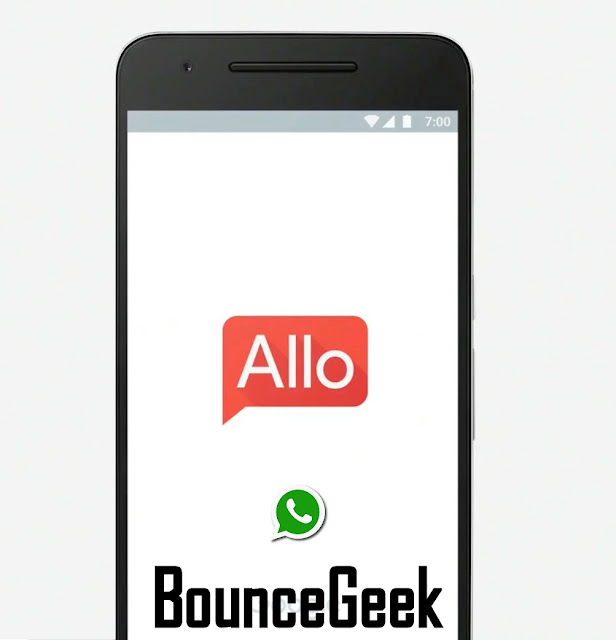 Small Comparison Between WhatsApp & Google Allo Messenger
