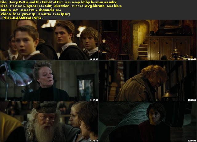 Descargar Harry Potter y el cáliz de fuego Latino por MEGA.