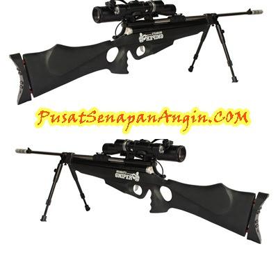 Jual Senapan Angin Bramasta Black Sniper Murah
