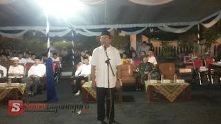 Bupati Dan Wakil Bertakbir Bersama Ribuan Masyarakat Bojonegoro