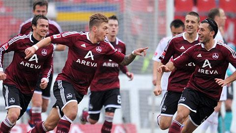 Các cầu thủ của CLB Nurnberg