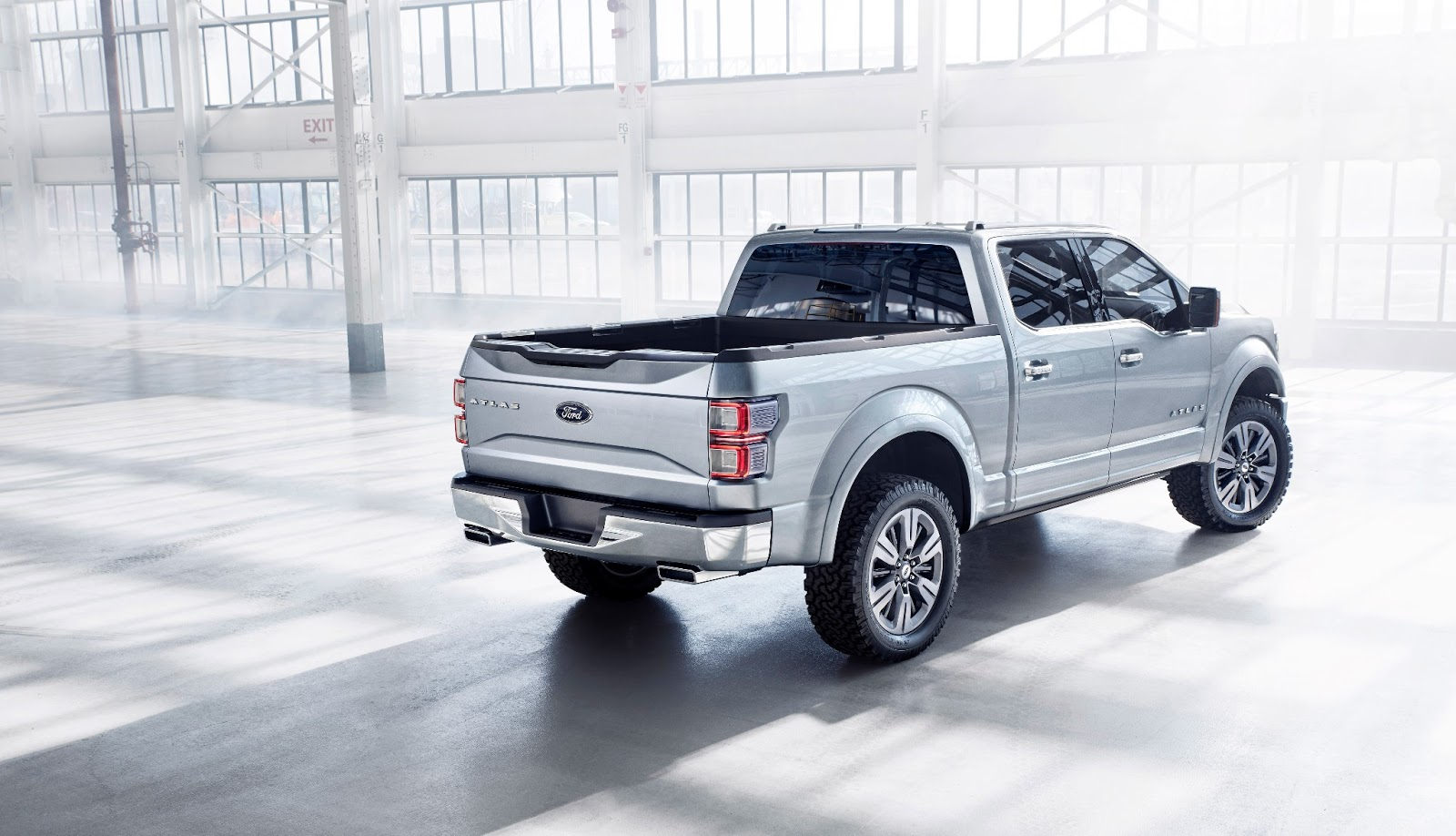 new ford f 150 for 2015 atlas concept cars life cars fashion lifestyle blog. Black Bedroom Furniture Sets. Home Design Ideas