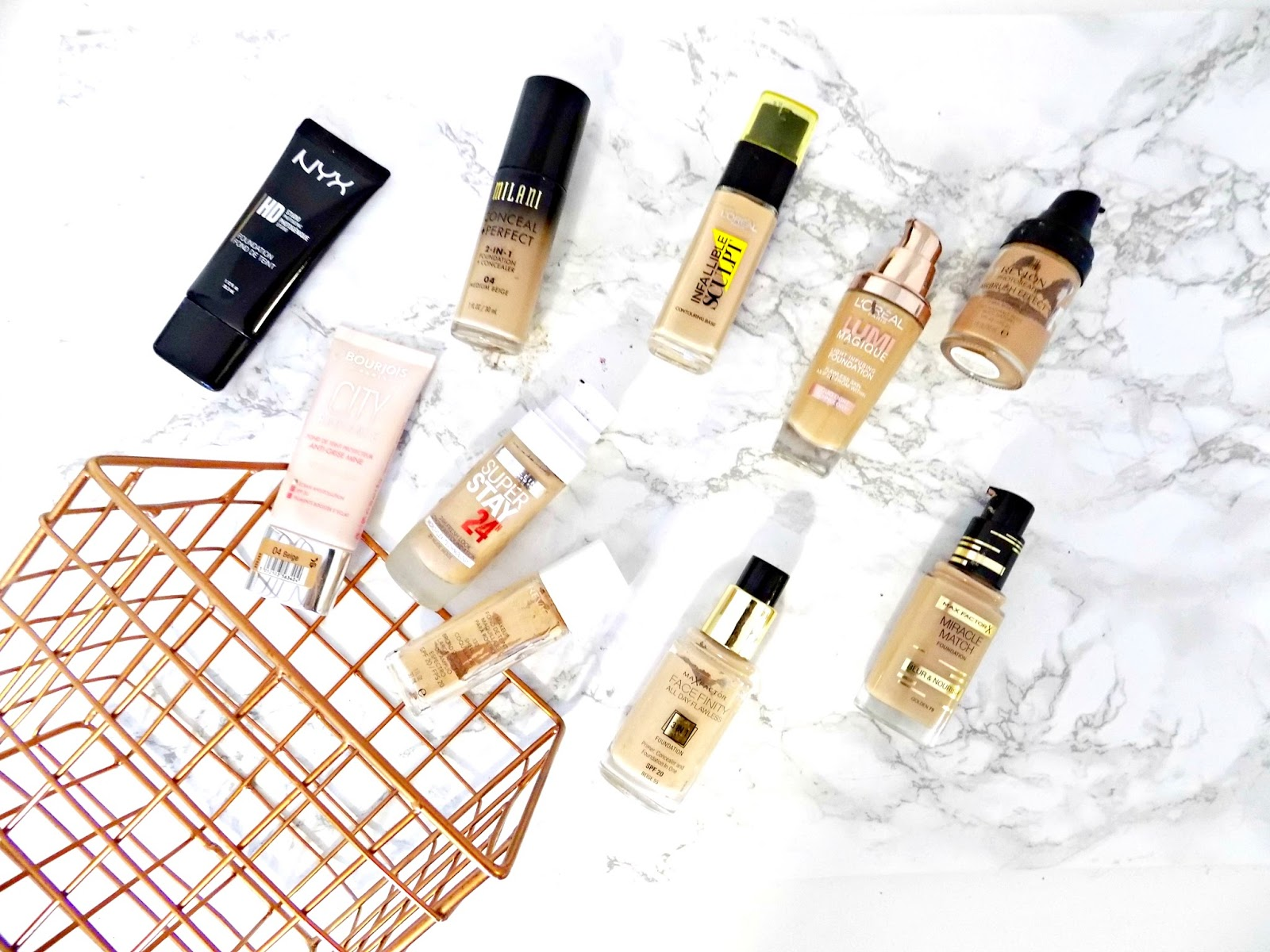 As promised in my Drugstore Foundations | the good, the bad and the ugly part 1 (you can read it here) I'm back with part 2.