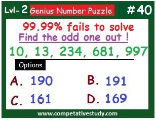 Number Puzzles: Logic Puzzles #40
