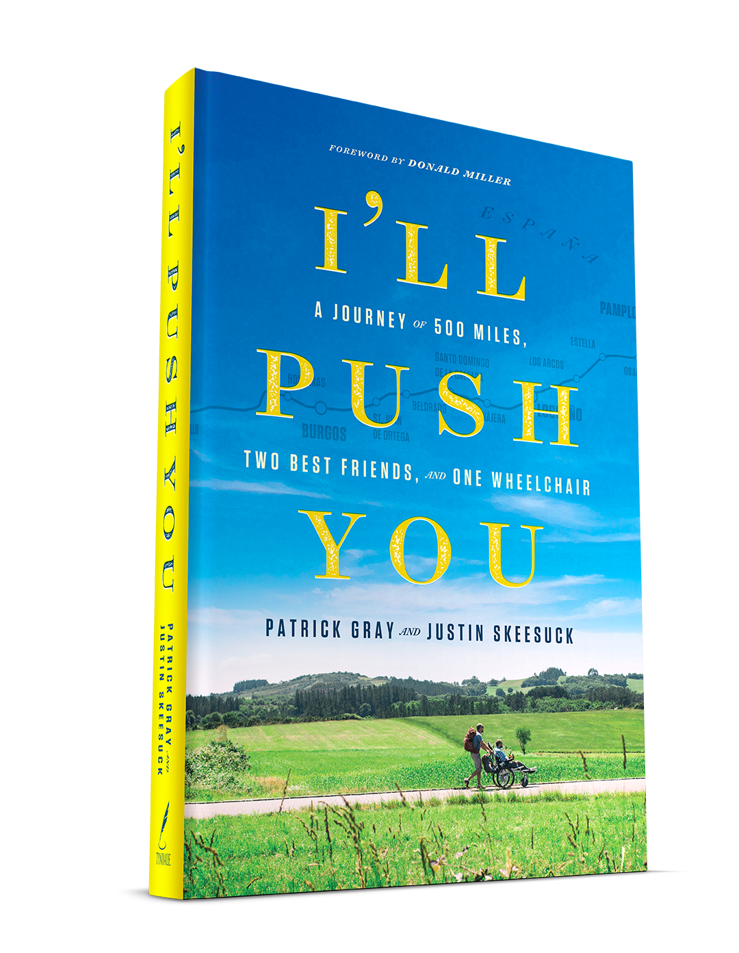 'I'll Push You' - a powerful story and testament to the unconditional bonds of friendship. Photo: © IllPushYou.com. Unauthorized use is prohibited.