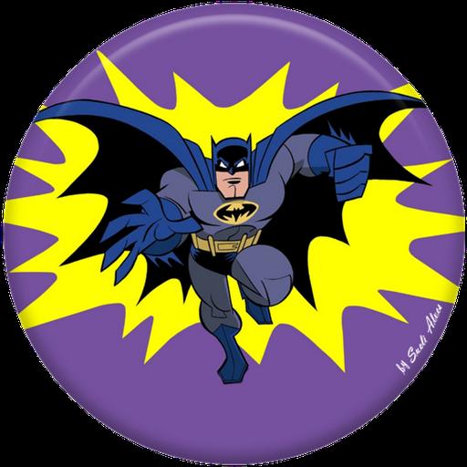 Toppers o Etiquetas de Intrépido Batman para imprimir gratis.