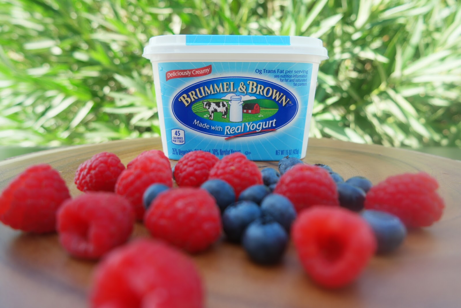 Using Brummel & Brown Yogurt Spread, this is a simple way to incorporate this delicious spread (that is made with the goodness of real yogurt) and fresh ...