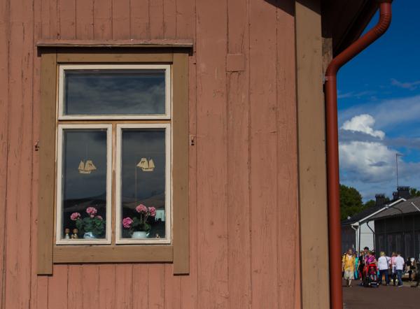 vanhan talon ikkuna puutalot Loviisa
