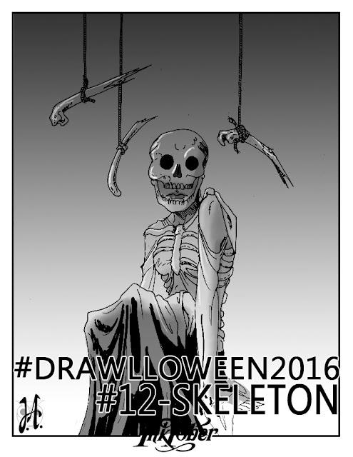 skeleton-drawlloween-inktober-lucyowlart