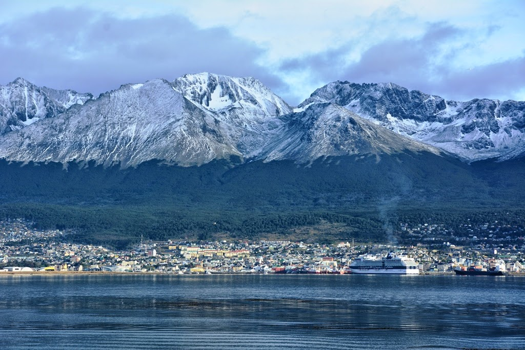 Ushuaia Beagle Canal mountains