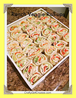 Ranch Veggie Roll-ups
