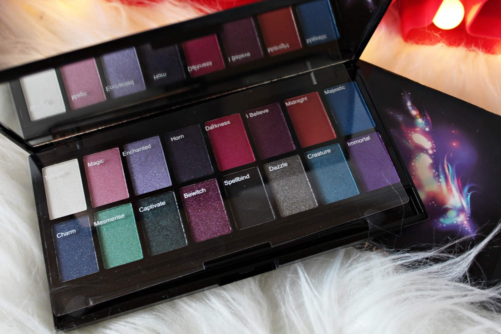 paleta cieni midnight unicorn makeup revolution