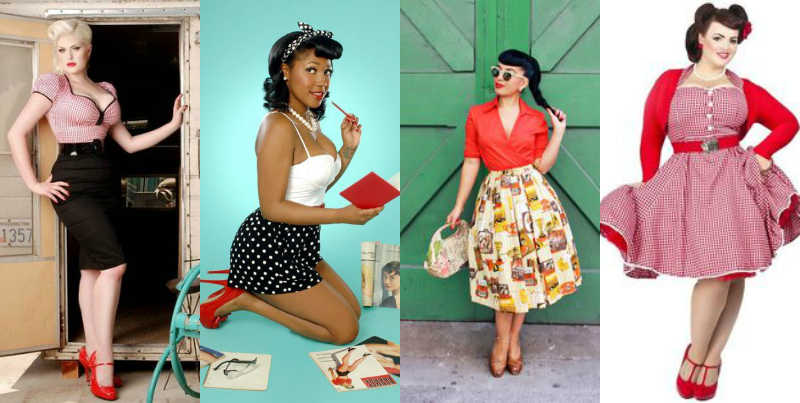 pinup looks inspiration