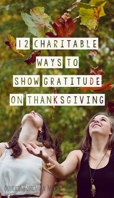 How to give back at Thanksgiving. How to give thanks on thanksgiving. Thanksgiving volunteer ideas.   12 Charitable Ways to Show Gratitude on Thanksgiving. What to do on Thanksgiving. Creative Ways to Give Thanks This Thanksgiving.