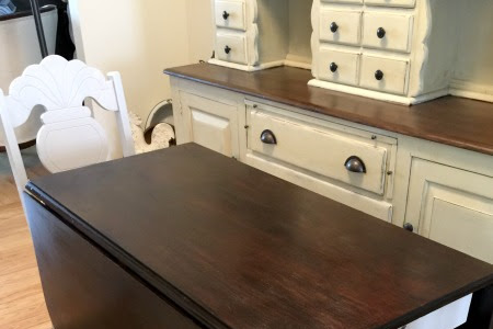 How to Match the Wood on a Table Set Using Stain
