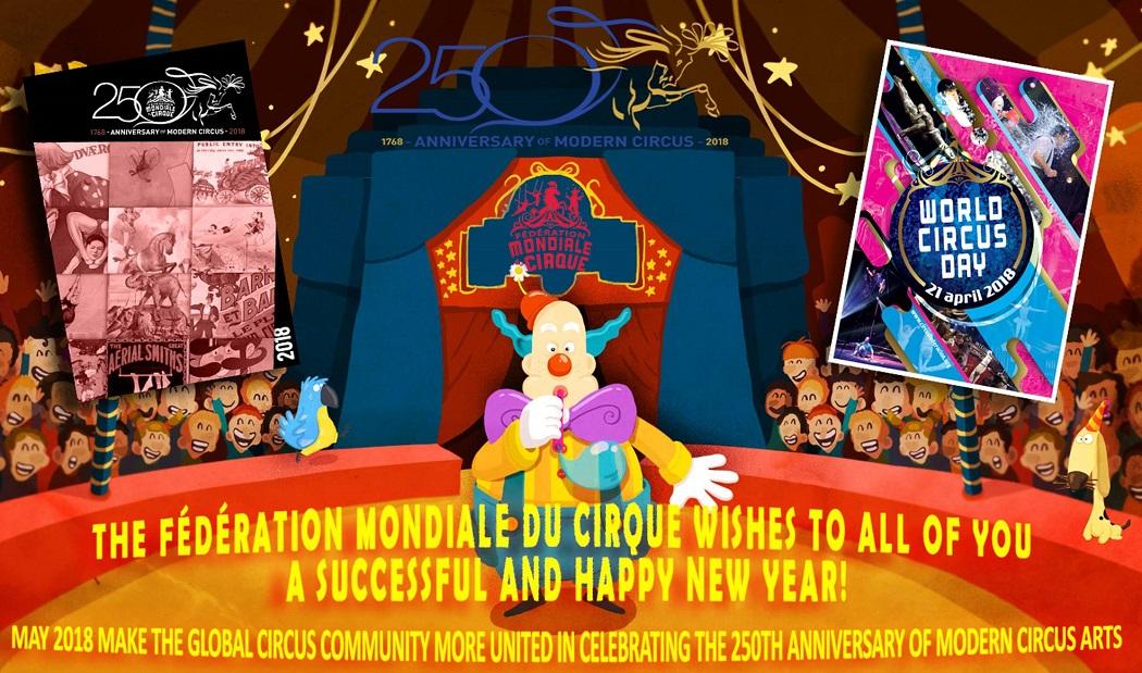 anniversaire cirque nomade