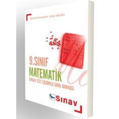 Sınav Dergisi 9.Sınıf Matematik Örnek Test Çözümlü Soru Bankası