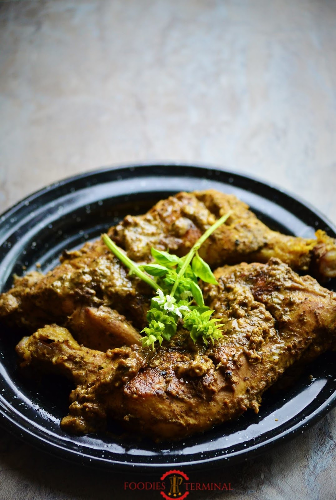 Afghani Chicken Roast Recipe
