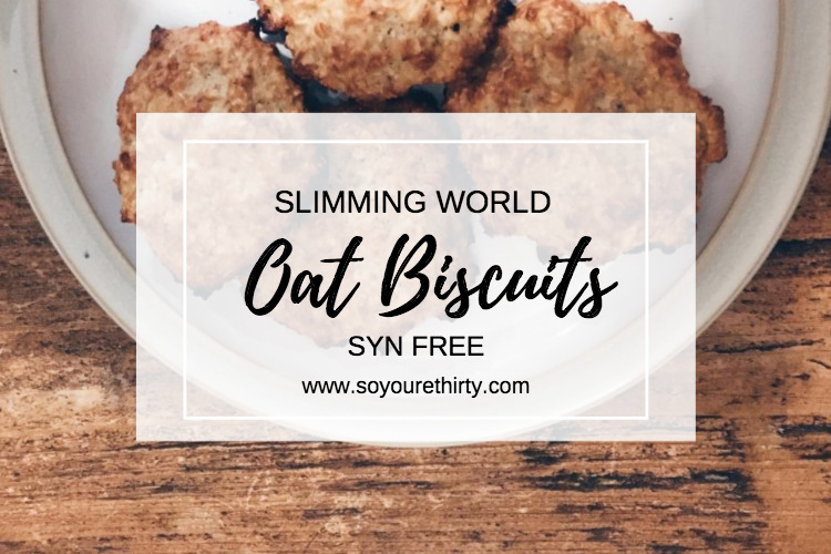 Slimming World Syn Free Oat Biscuits Syt Lifestyle