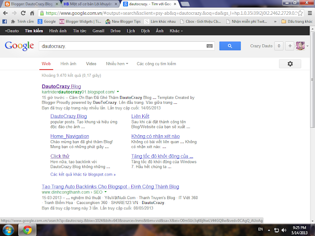 Một số Lời khuyên  cơ bản Làm thế nào để có Sitelinks Google?