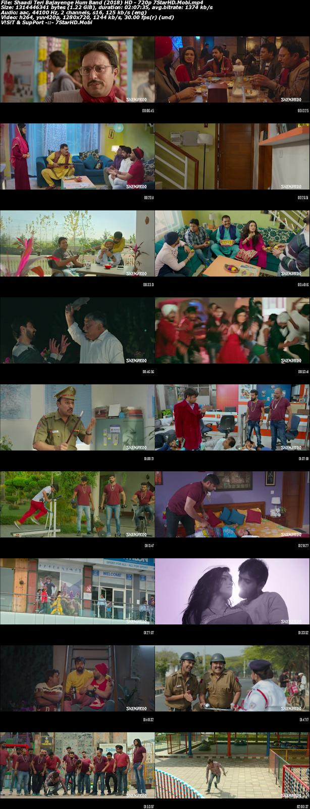 Shaadi Teri Bajayenge Hum Band (2018) Hindi 450MB HDRip 480p x264 2
