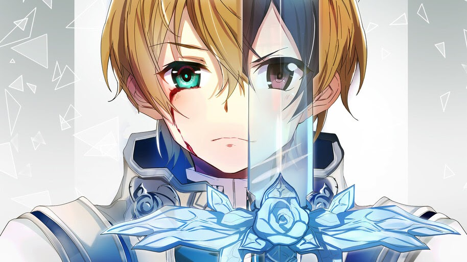 Eugeo, Blue Rose Sword, SAO Alicization, 4K, #4.1910