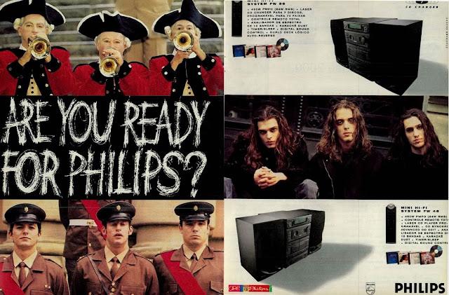 Propaganda da Philips em 1994 apresentando um System 3 em 1.