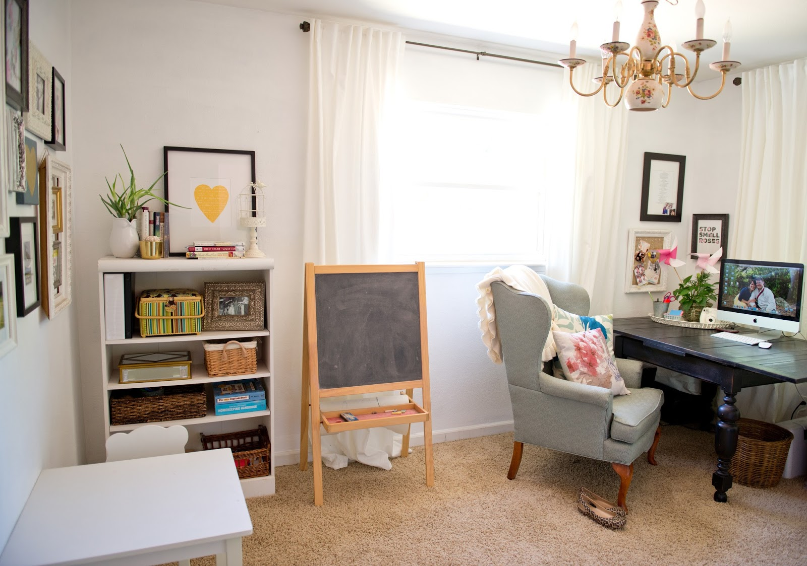 Domestic Fashionista Multifunctional Office And Playroom