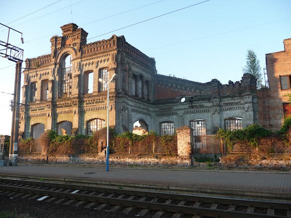 Конотоп. Залізнична станція. Будівлі КВРЗ