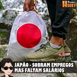 Pocket Hobby - www.pockethobby.com - Japão - Lugar Onde Sobram Empregos, Mas Faltam Salários