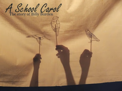 A School Carol: The Story of Billy Burden shadow puppet theater
