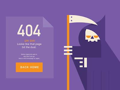 kode error internet 404