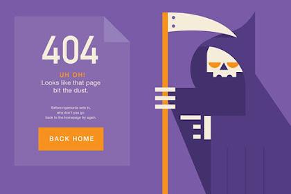 404 : Kode Error HTTP  Beserta Artinya  Yang Perlu Kamu Ketahui