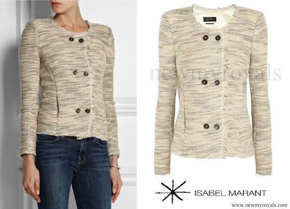 Princess Marie wore ISABEL MARANT jacket Blazer