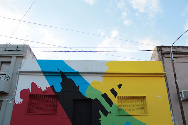 """Neuralgic Point"" New Mural By Argentinian Street Artist Elian In Cordoba, Argentina. 3"