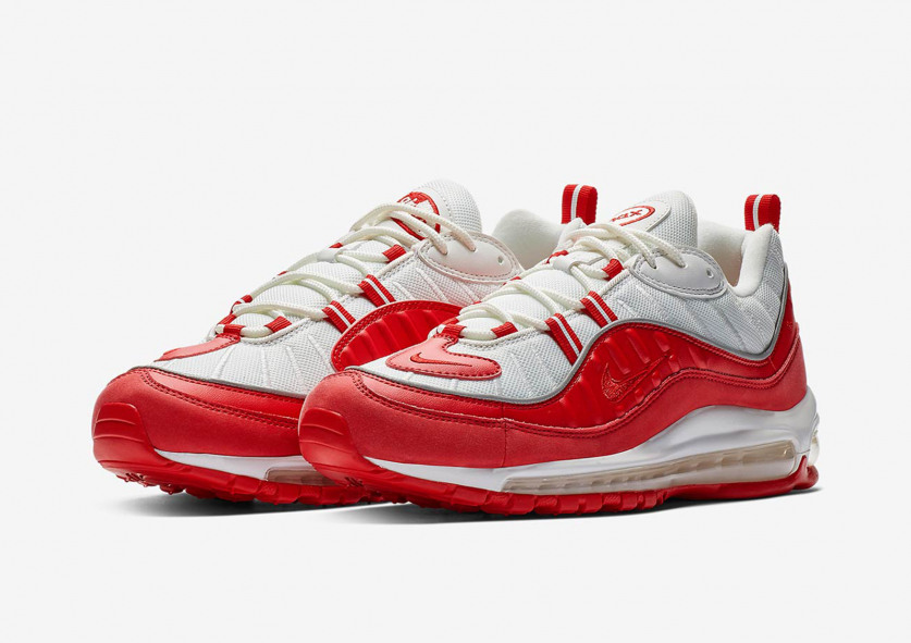pretty nice 73464 855f2 Swag Craze  First Look  Nike Air Max 98 - University Red